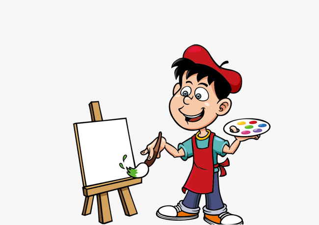 11518 Painting free clipart.
