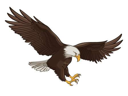 Eagle flying clipart 2 » Clipart Station.