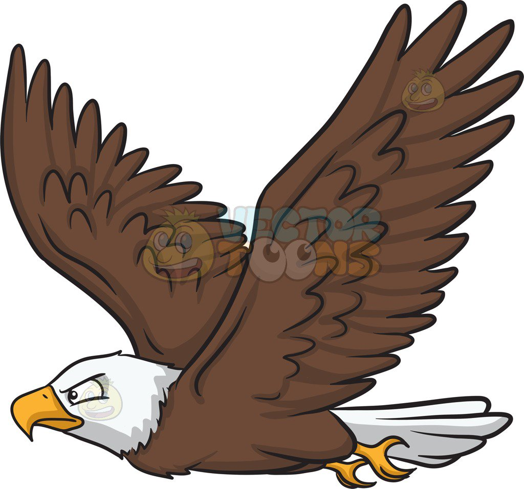 Eagle Clipart Flying.