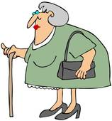 Elderly woman Illustrations and Clip Art. 1,111 elderly woman.