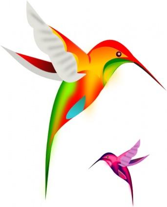 Exotic bird clipart.