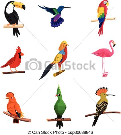 Exotic birds Illustrations and Stock Art. 8,552 Exotic birds.