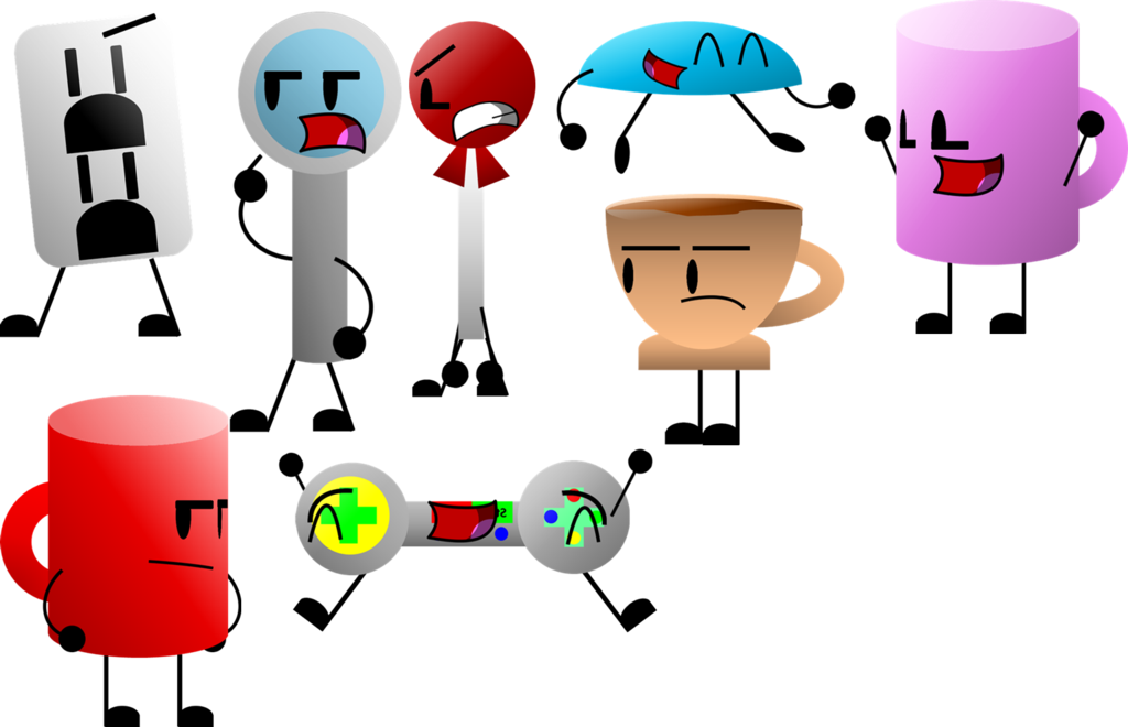 Inanimate Objects 3 Character New Bodies by AnimatorOfAwesomenes.