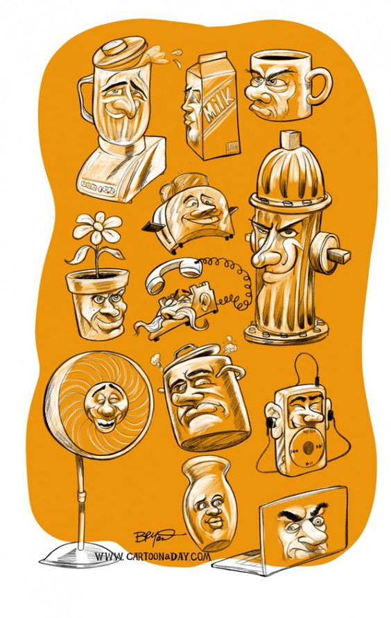 Animated Inanimate Objects.