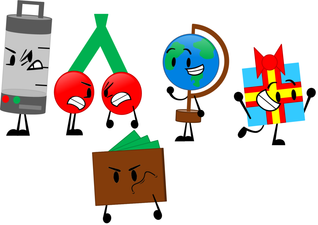 Inanimate Objects 3 New remade bodies by CornyAnimations332 on.