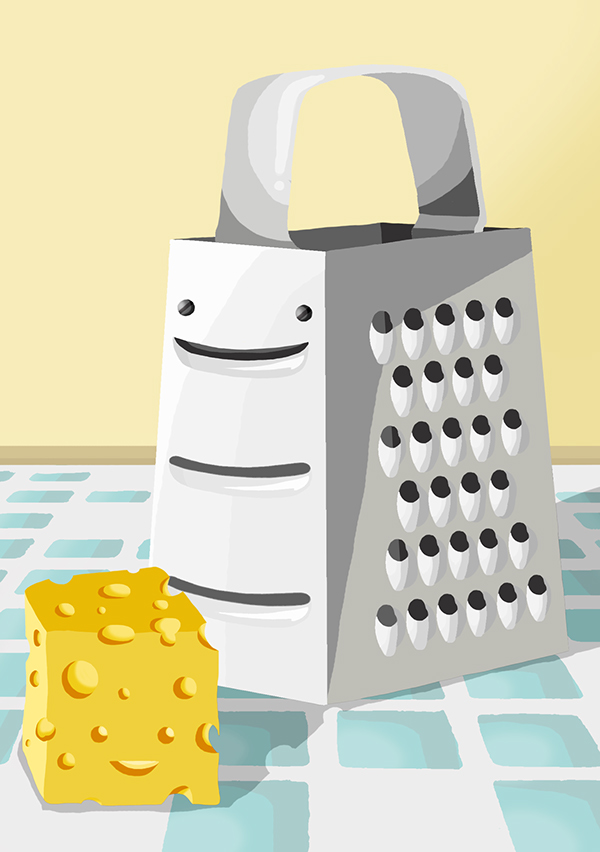 Inanimate Objects Brought to Life on Behance.