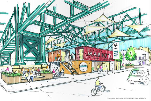Old City District presents Vision 2026 development goals.