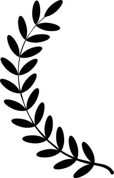 Clipart Of An Olive Branch.