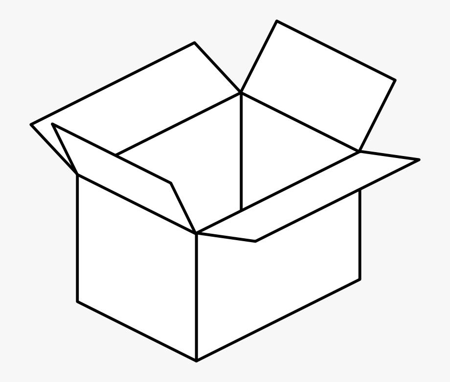 Carton Open Box Clip Art At.
