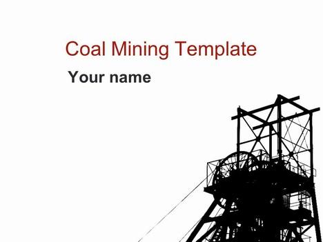 Coal Mining Template.