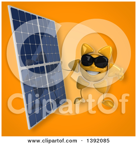 Royalty Free Solar Power Illustrations by Julos Page 1.