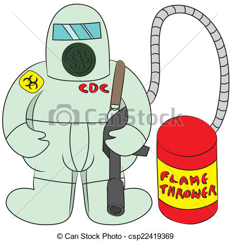 Clip Art Vector of disease outbreak.