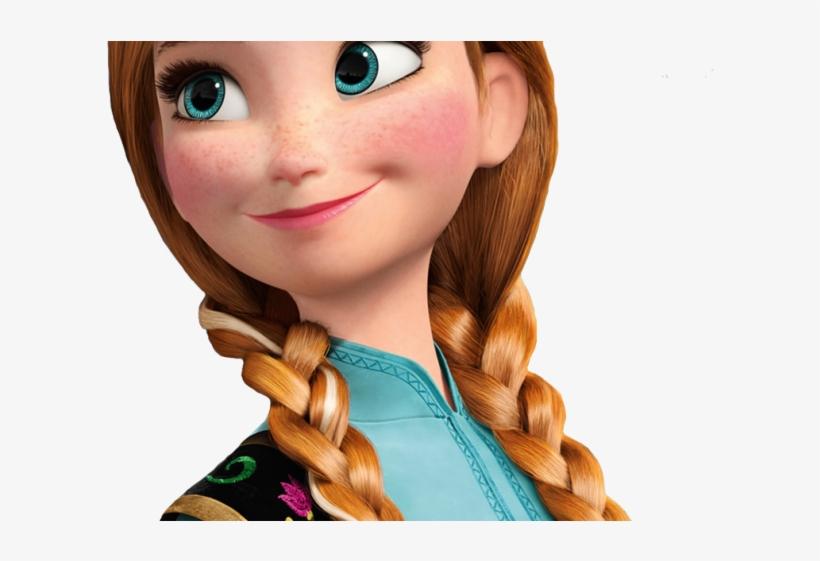 Braid Clipart Anna Frozen.