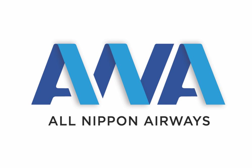All Nippon Airways Logo.