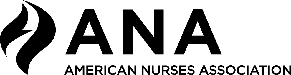 ANA, ANCC, American Nurses Foundation Official Logos.