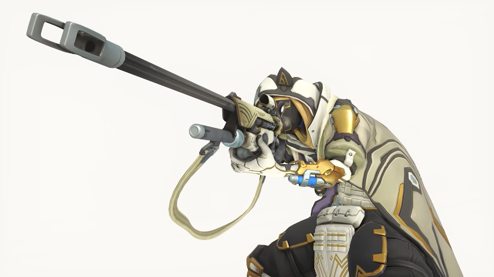 You have to win 9 Overwatch games to unlock Ana's Bastet skin.