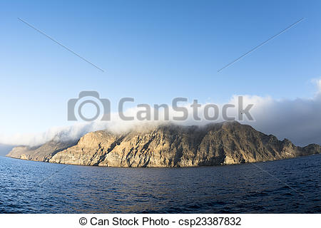 Stock Photos of Anacapa Island.