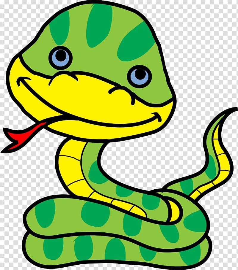 Snake Cartoon Animation , anaconda transparent background.