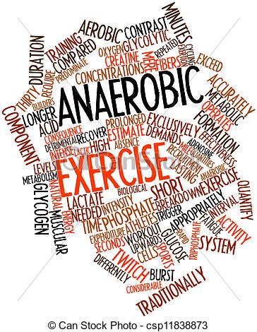 Anaerobic Exercise Clipart.