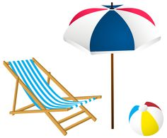 Beach chairs, Clip art and Chairs on Pinterest.