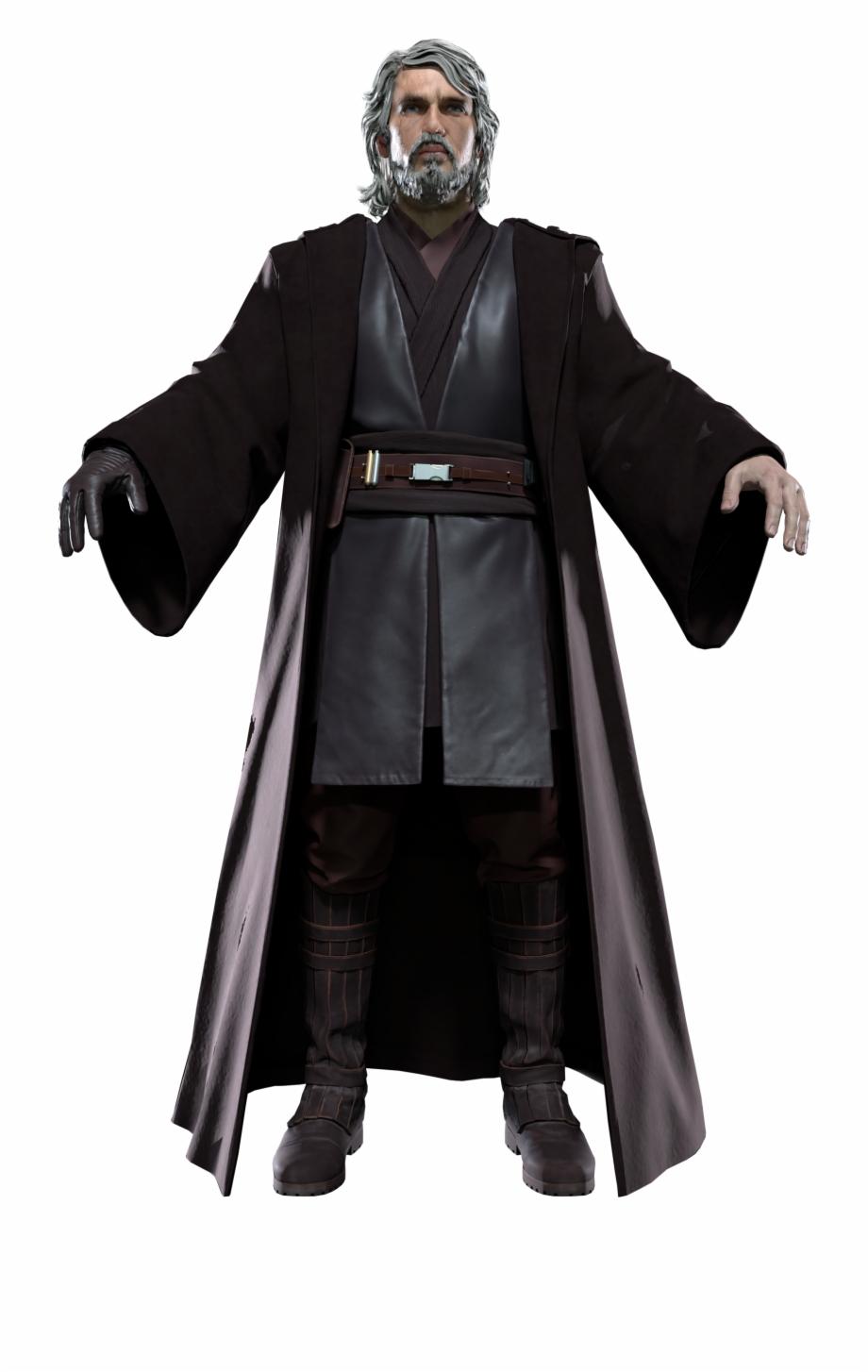 Old Jedi Master Anakin Skywalker.