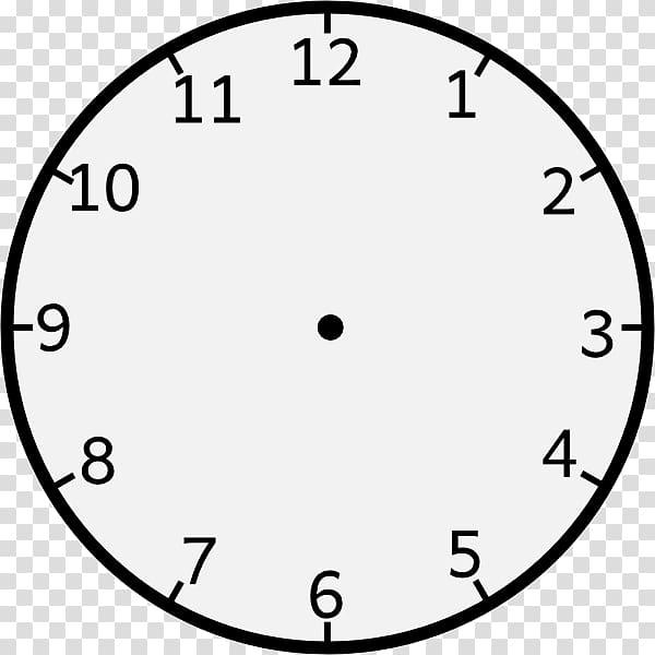 White and black clock illustration, Clock face , Analog.