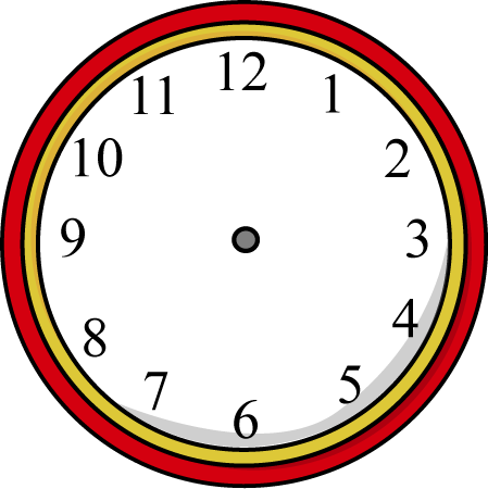 Clipart Of Clock Without Hands.