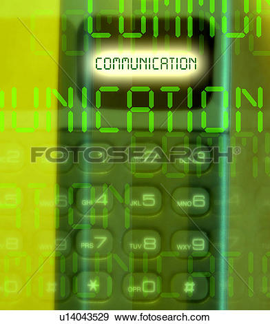 Stock Illustration of Analog communication u14043529.