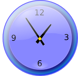 Analog Clock clip art Free Vector / 4Vector.