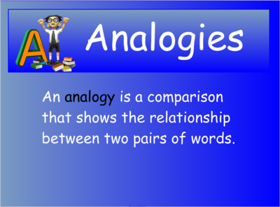 Analogy Clip Art.