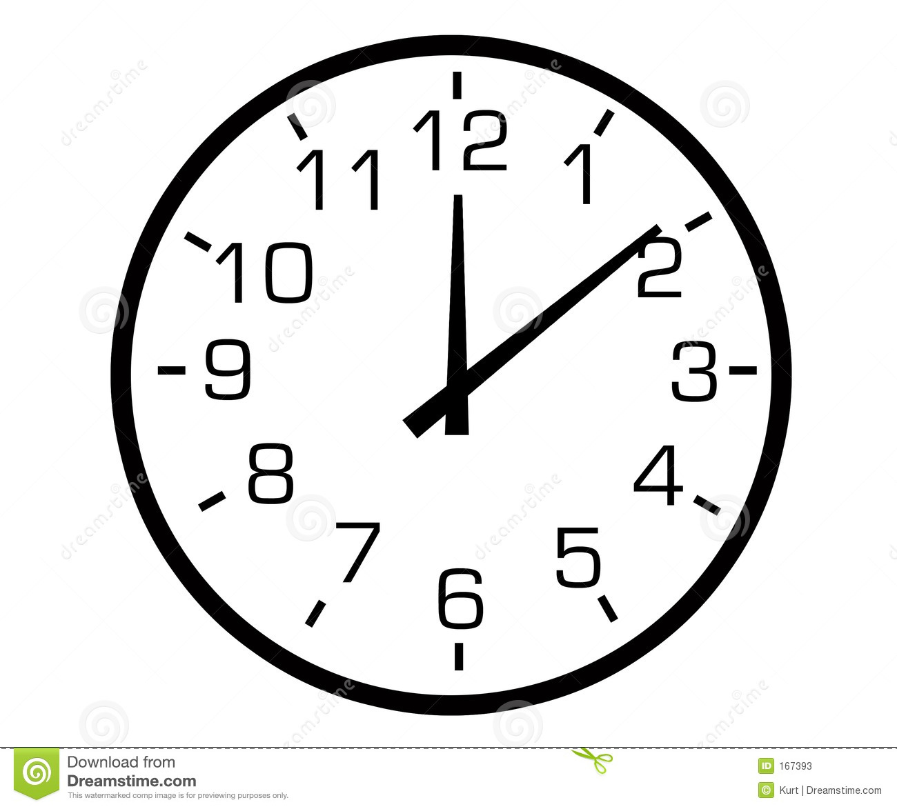 Keywords Analog Clock Hands and Tags.