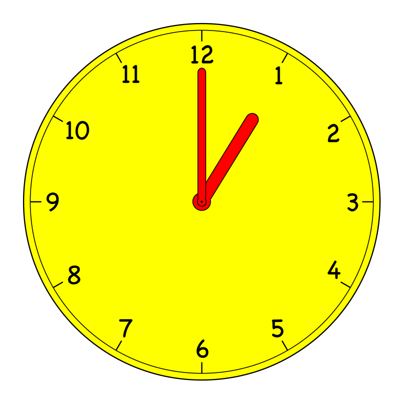 Clocks 3 30 Clipart.