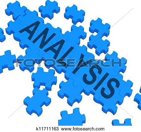 Clipart of Analysis Word Showing Checking Probing And Examining.