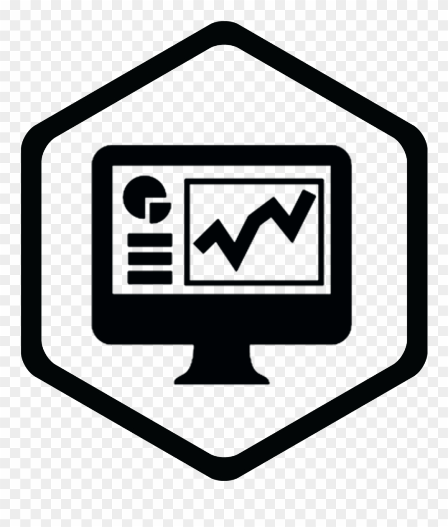 Data Analytics Icon Blue Clipart (#3676244).
