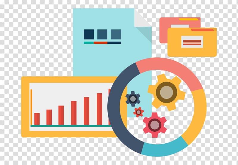 Big data Data analysis Analytics, Business transparent.