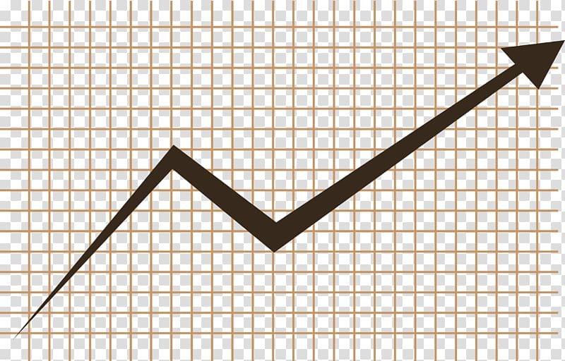 Business Economics Finance Money, Economic upward trend map.