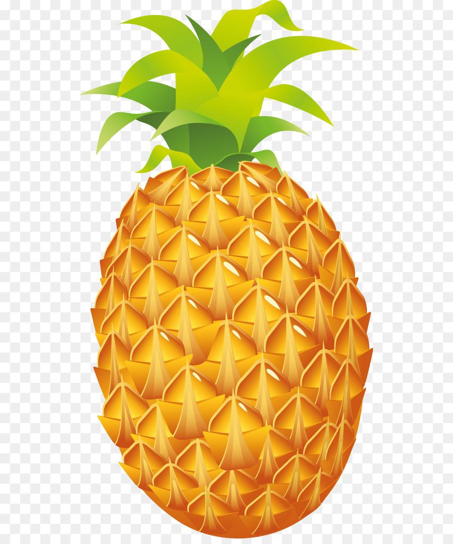 Ananas Luau Obst Clip art.