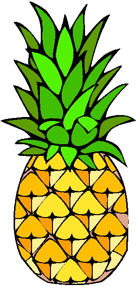 Ananas Clipart Page 1.