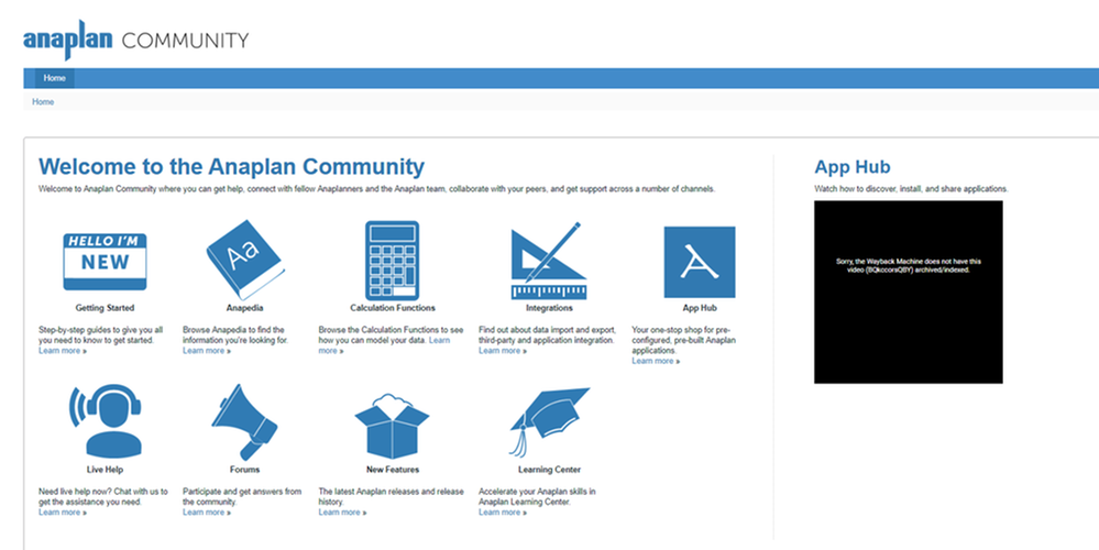 The Evolution of the Anaplan Community.