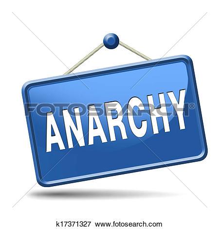 Stock Illustration of anarchy k17371327.