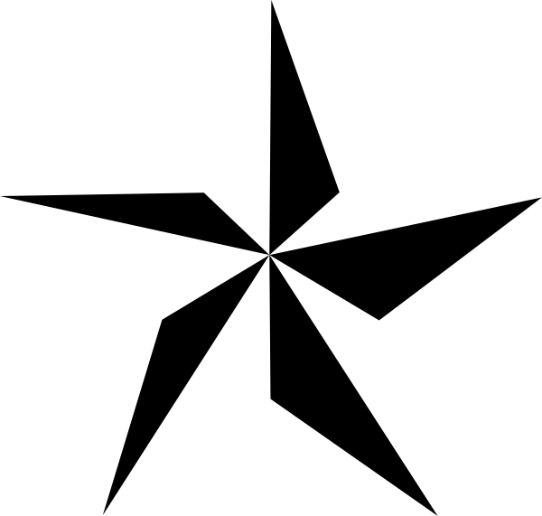 Half Star Clip Art at Clker.com.