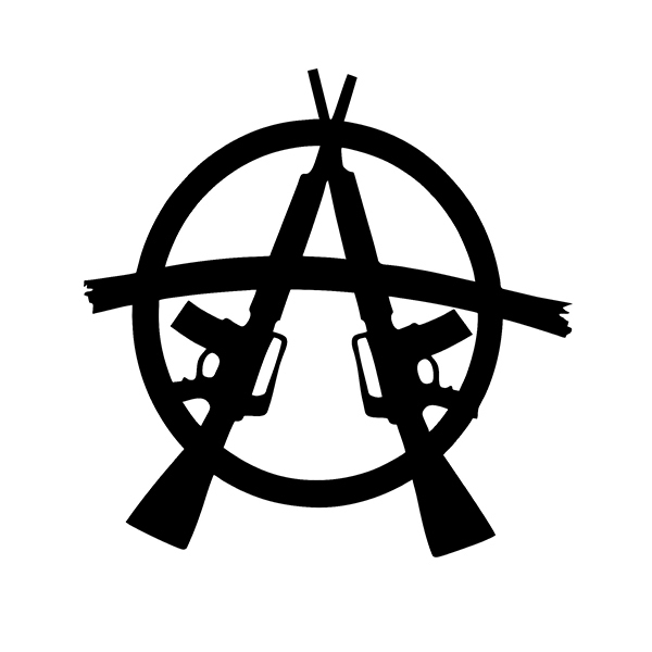 Online Buy Wholesale anarchy decal from China anarchy decal.