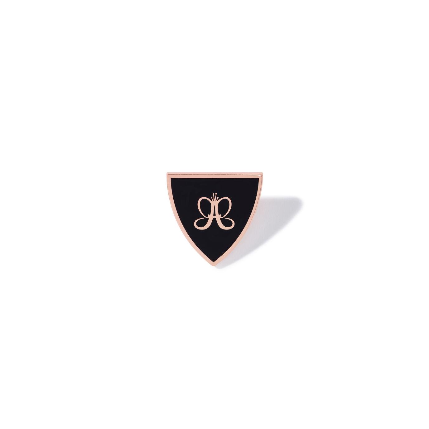 Logo Shield Enamel Pin.