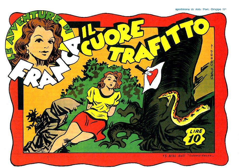 Fumetti FUMETTO CLUB, Collana FRANCA SEQ. ANASTATICA.