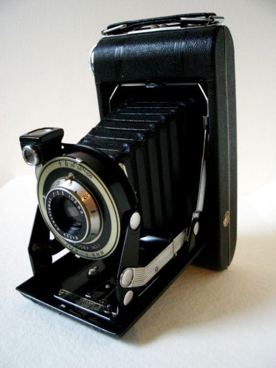 Vintage Camera Old Kodak Anastigmat Kodex NO.1 Camera 102 mm.