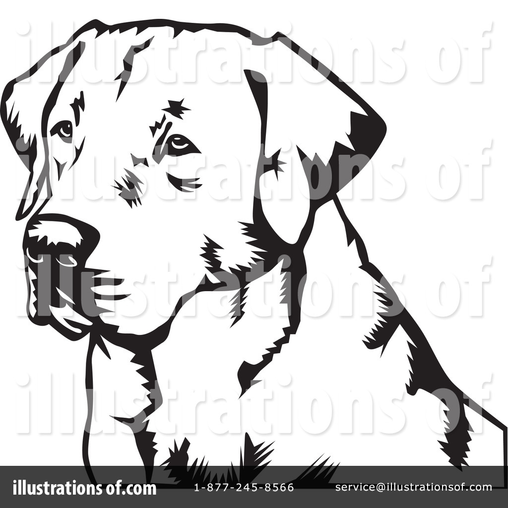 Shepherd lab dog clipart.