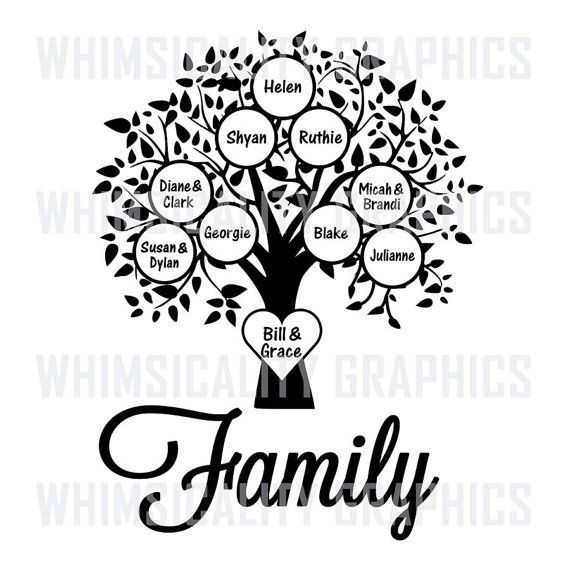 Ancestry clipart black and white clipart images gallery for.