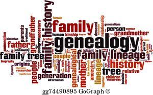 Genealogy Clip Art.