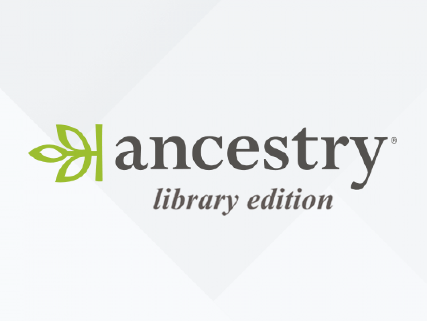 Ancestry Library Edition.