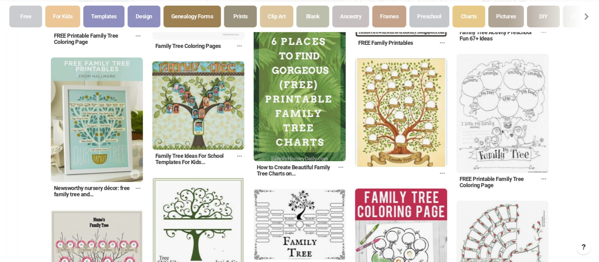 046 Free Printable Family Tree Template Or Make Easily With.